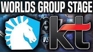 TL vs KT - Worlds 2018 Group Stage Day 7 - Team Liquid vs KT Rolster - Worlds 2018 Group Stage Day 7