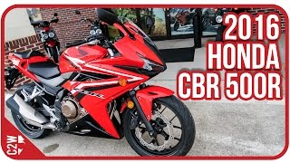 2016 CBR 500r | First Ride