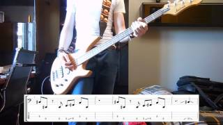 Royal Blood - I Only Lie When I Love You Bass cover with tabs