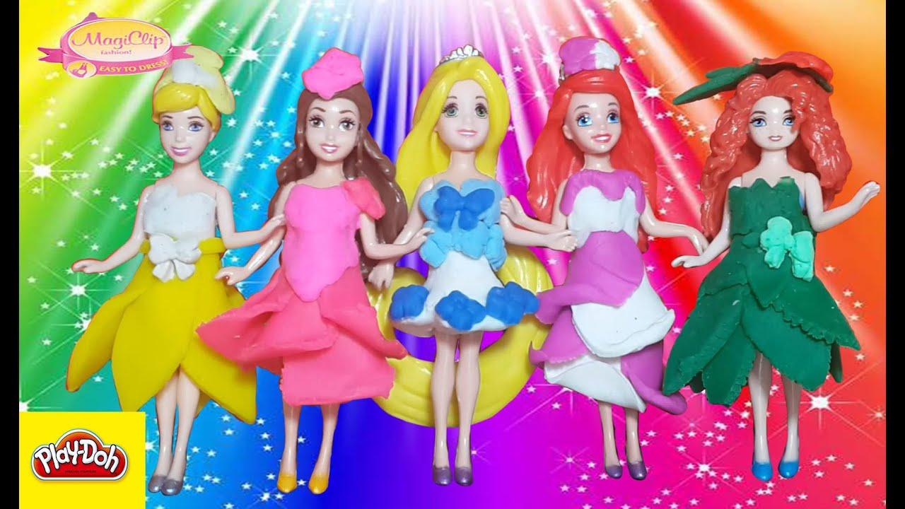Платья пластилиновые