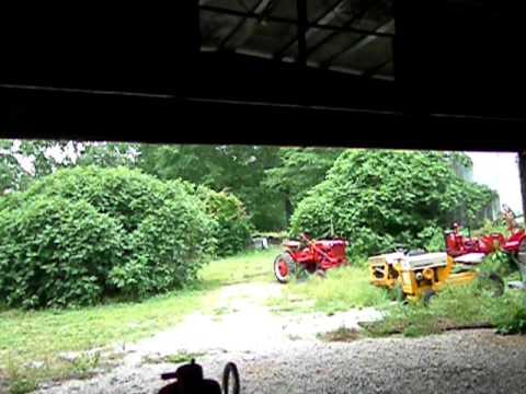 farmall cub plow hook up