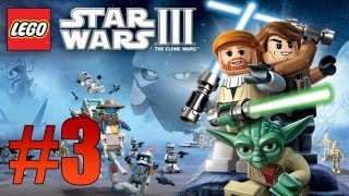 Stars Wars 3: The Clone Wars - Ch. 1 The Hidden Enemy, Battle of Geonosis - Part 3 (Lets Play)