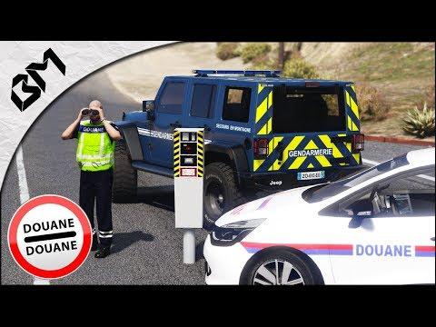 GTA 5 - LSPDFR - GENDARMERIE E.R.I - DOUANES AUX FRONTIÈRES - BRIGADE AUTOROUTE - Patrouille 41