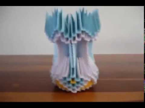 Jarron Simple Origami 3d Youtube
