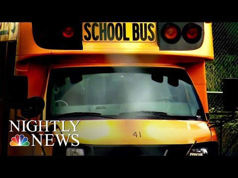 Child Calls 911 On School Bus Driver Suspected Of Drunk Driving | NBC Nightly News