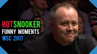 Funny Moments WORLD SNOOKER CHAMPIONSHIP 2017 - HotSnooker