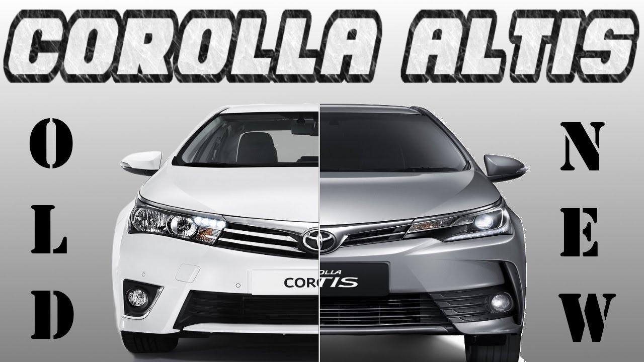 Old corolla altis vs new corolla altis 2017