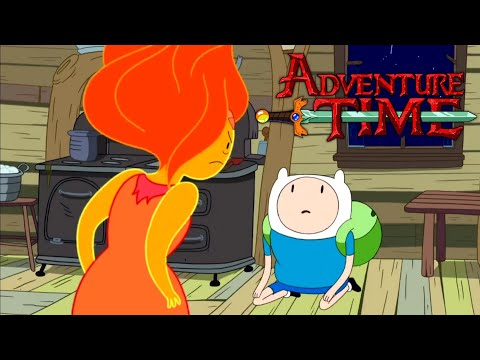 Adventure Time   Finn meets FP   (clip) Hot to the Touch