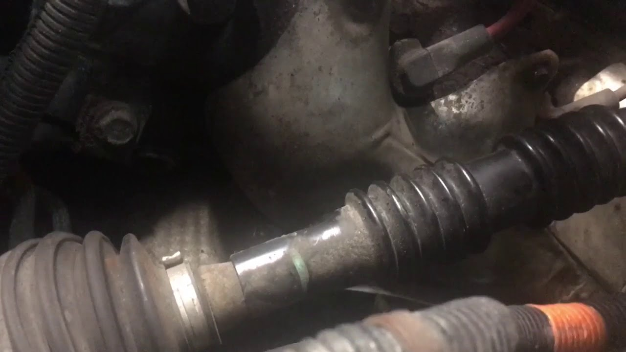 chevy tahoe left side motor mount removal