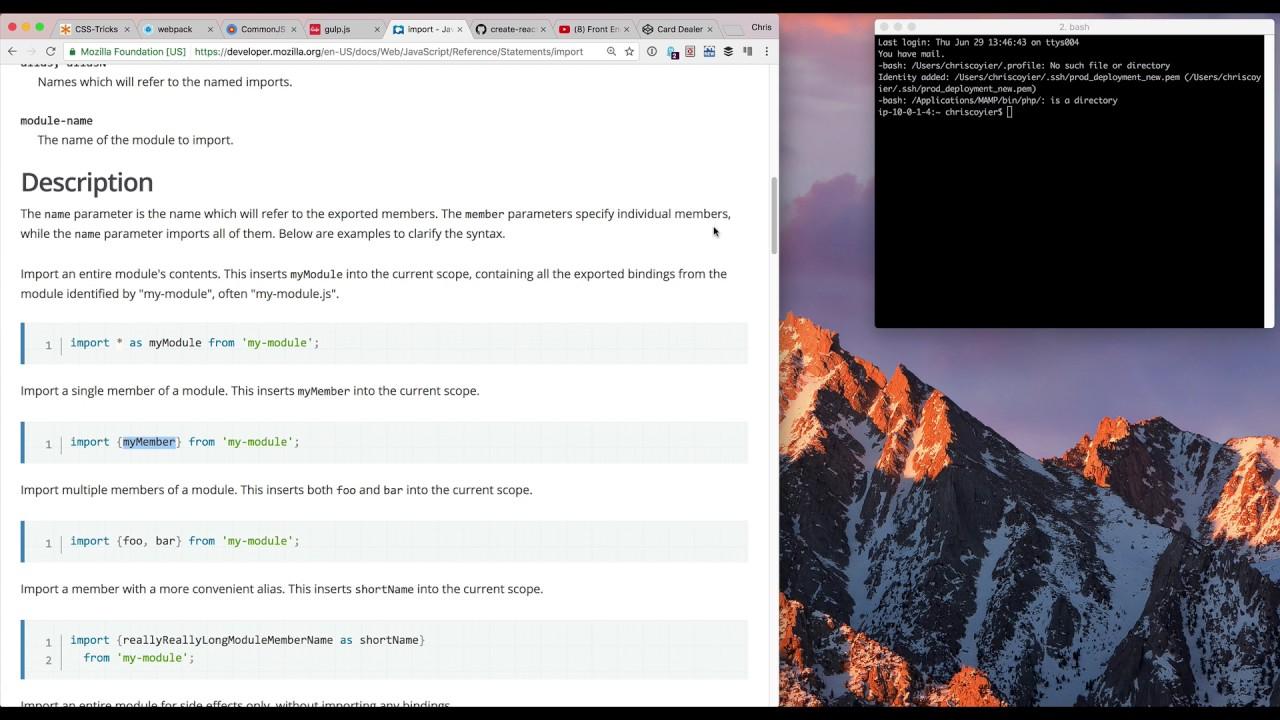 CSS-Tricks Screencast #156: Let's Talk About Webpack