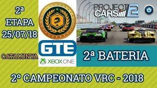 2ª Bateria da 2ª Etapa do 2º Campeonato VRC 2018 - GTE