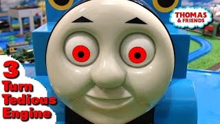 """Thomas and friends """"Turn Tedious Engine Episode 3"""" トーマス プラレール ガチャガチャ 魔界の使者3"""