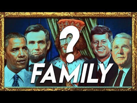 All US Presidents Related to this One King? | SELECTED or ELECTED?