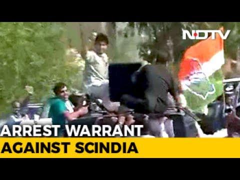 After Rahul Gandhi, Jyotiraditya Scindia In Face-Off With Cops