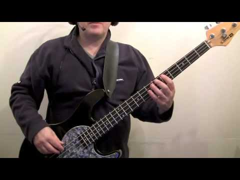 how to play bass for beginners - can't stand losing you p...