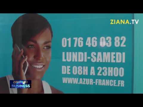 ZIANA ECO BUSINESS.  AZUR France propose les appels illimités vers le Gabon, la RCA et le Congo