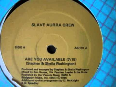 Slave Aurra Crew Are You Available