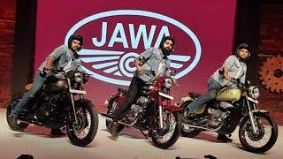 Возрождение мотоциклов Jawa