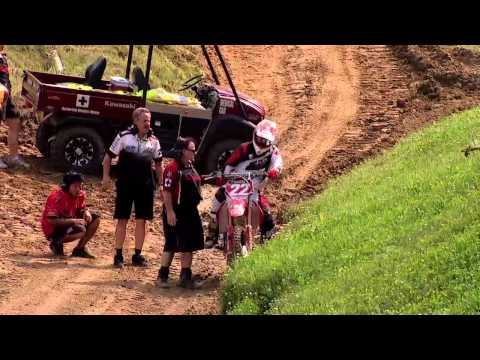2011 Chad Reed Crash-Millville(Official Speed TV Feed)