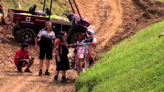 2011 Chad Reed Crash-Millville(Official Speed TV Feed) thumbnail