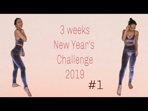 なかなか痩せにくい子も痩せる!脂肪燃焼!New Year Challenge!!2019#1