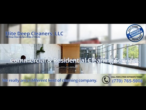 One Time Deep Cleaning Service For Commercial Properties Atlanta