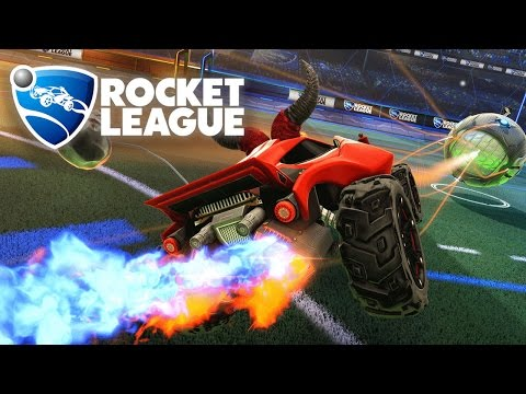 Rocket League PS4 Edition Multiplayer Intense Epic Squad Goals -Playstation 4 Console Gameplay