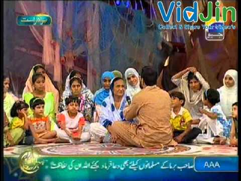Dr. Aamir Liaquat Hussain In Pehchan Ramzan With Bilquis Edhi - 25th July 2012 Part 1