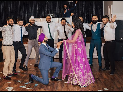 Surprise Engagement Bhangra Performance #Jasrajan (VanCity Bhangra)