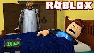 I FIND GRANNY IN MY ROOM À 3 AM IN ROBLOX