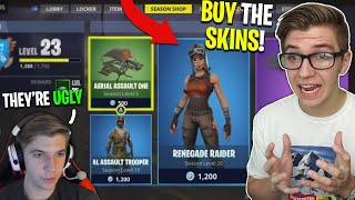 Gambar cover Reacting to me NOT Buying the RENEGADE RAIDER or ASSAULT TROOPER in Season 1 (so sad)