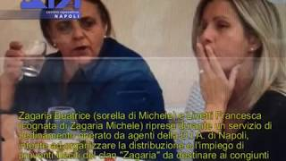 COLLOQUIO IN CARCERE TRA LA SORELLA E LE COGNATE DI MICHELE ZAGARIA