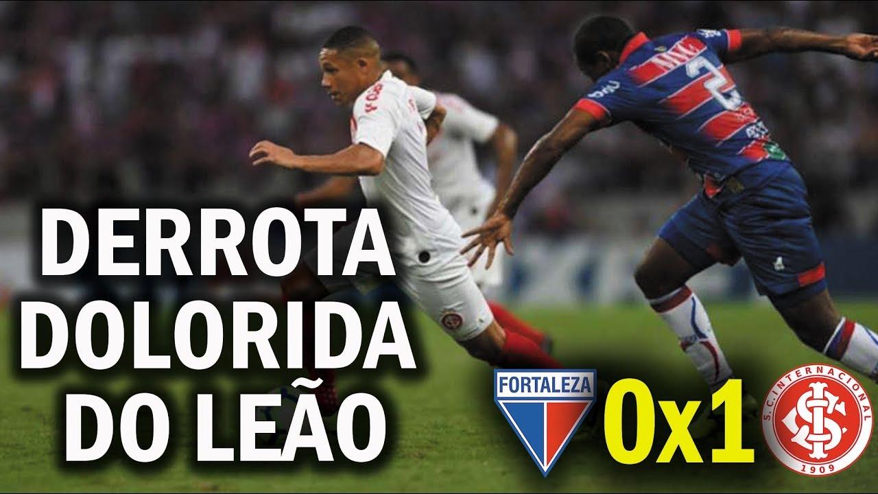 Resultado de imagem para Fortaleza 0x1 Internacional: Leão sofre derrota amarga em casa