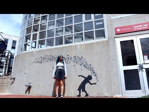 NORTHEASTERN UNIVERSITY CAMPUS TOUR