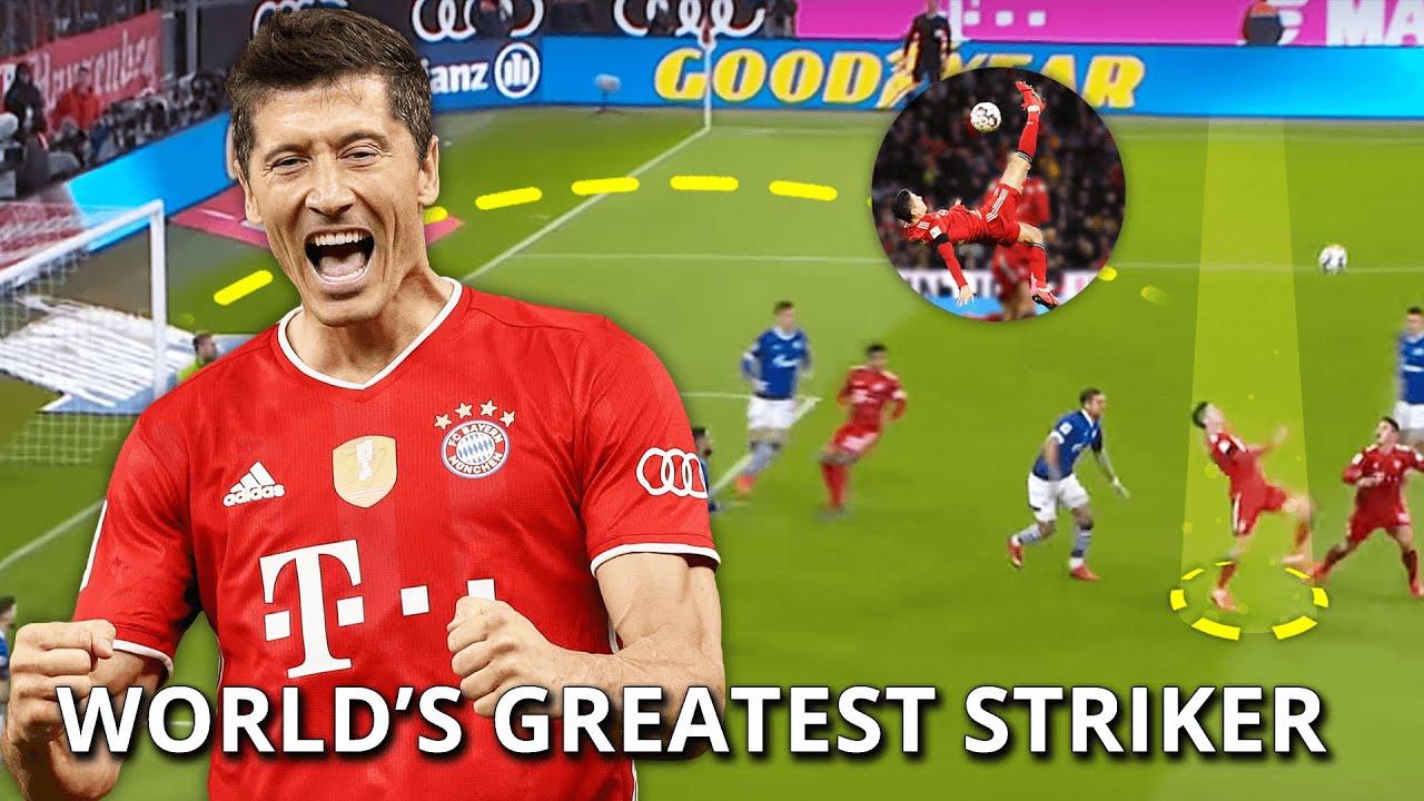 Robert Lewandowski World S Greatest Striker Youtube