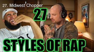 He Did It Best - 27 Styles of Rapping - {{ REACTION }}