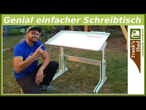 Genial einfachen Schreibtisch selber bauen | Franks Shed DIY