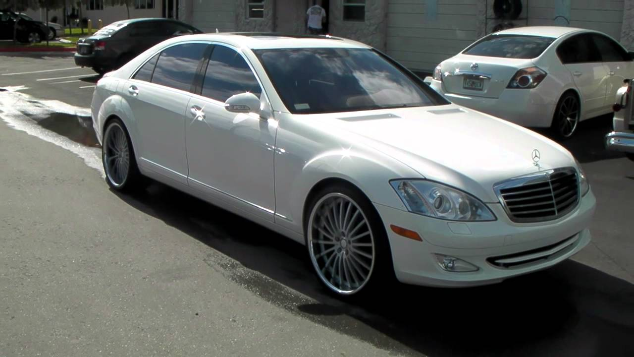Dubsandtires Com 2007 Mercedes S550 22 Quot Xo New York Wheels
