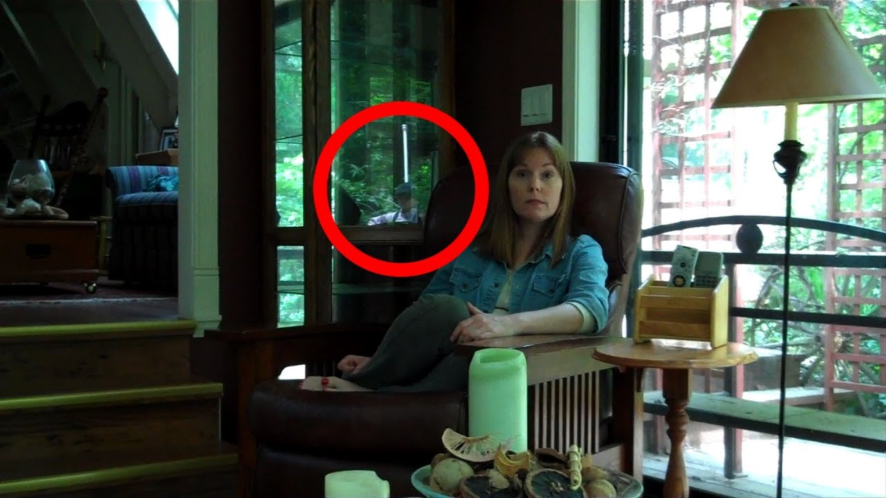 Ghost sighting in creepy cabin youtube for The girl in the cabin