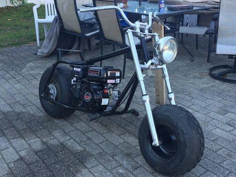 Baja Warrior Mini Bike Build! (Part 2)
