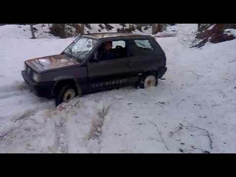 Panda 4x4 sisley neve youtube for Panda 4x4 sisley off road