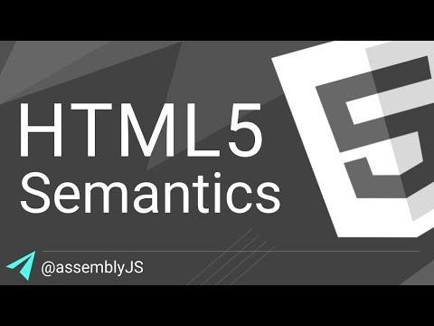 HTML5 Semantic Elements In Depth | HTML5 | #SigmaSchool