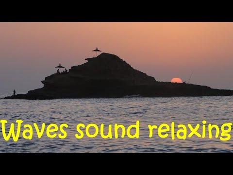 Waves sound relaxing | Tmadet | Beach Sidi EL Bachir Nador MOROCCO - VLOG