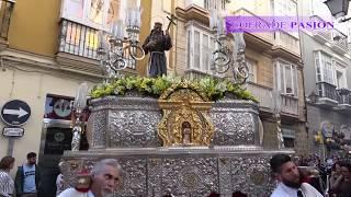 Traslado del Beato Fray Diego José de Cádiz a San Agustín (Corpus Christi de Cádiz 2018)