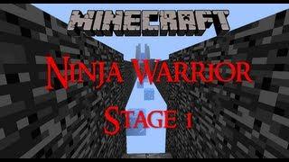 Minecraft Ninja Warrior Map Showcase Stage 1