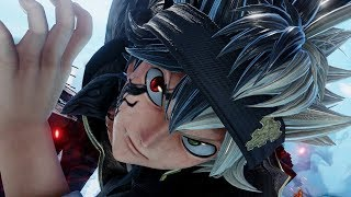 Jump Force - Asta from Black Clover Joins the Battle! SJ Scans! (HD)