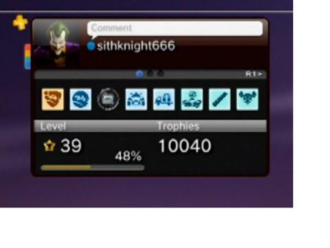 My Playstation Trophy List - 10,000 Milestone
