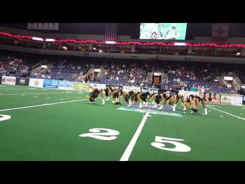 Texas Revolution Dancers Halftime
