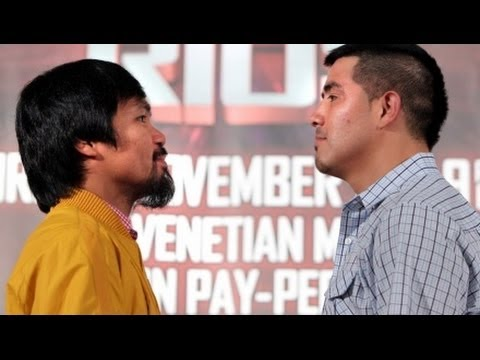 Manny Pacquiao vs Brandon Rios - FINAL PRESS CONFERENCE in Macau, China