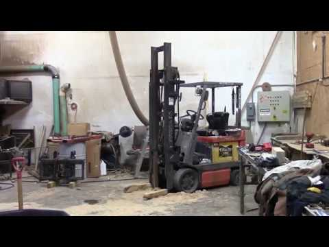 Toyota Forklift cylinder repair 1